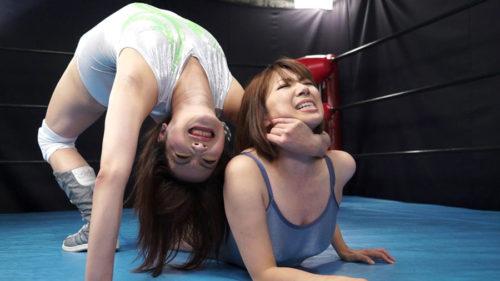 巨乳美熟女広瀬奈々美VS加藤あやののエロキャットファイトAV 最終的に負けたほうがセックスするといった卑猥なエロ格闘技